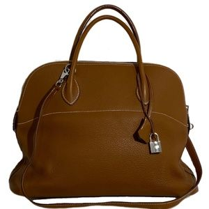 Hermès Bolide Like New Brown Leather Shoulder Bag